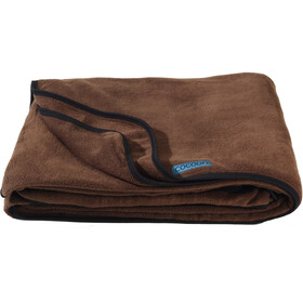 Cocoon Fleece Blanket, chocolate brown
